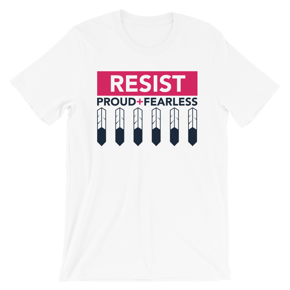 Resist Feathers Unisex T-Shirt