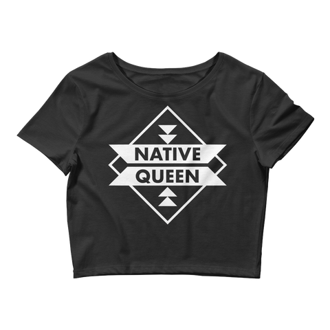 Native Queen Crop Tee