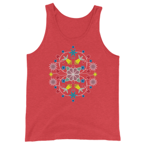 Native Floral Unisex Tank Top