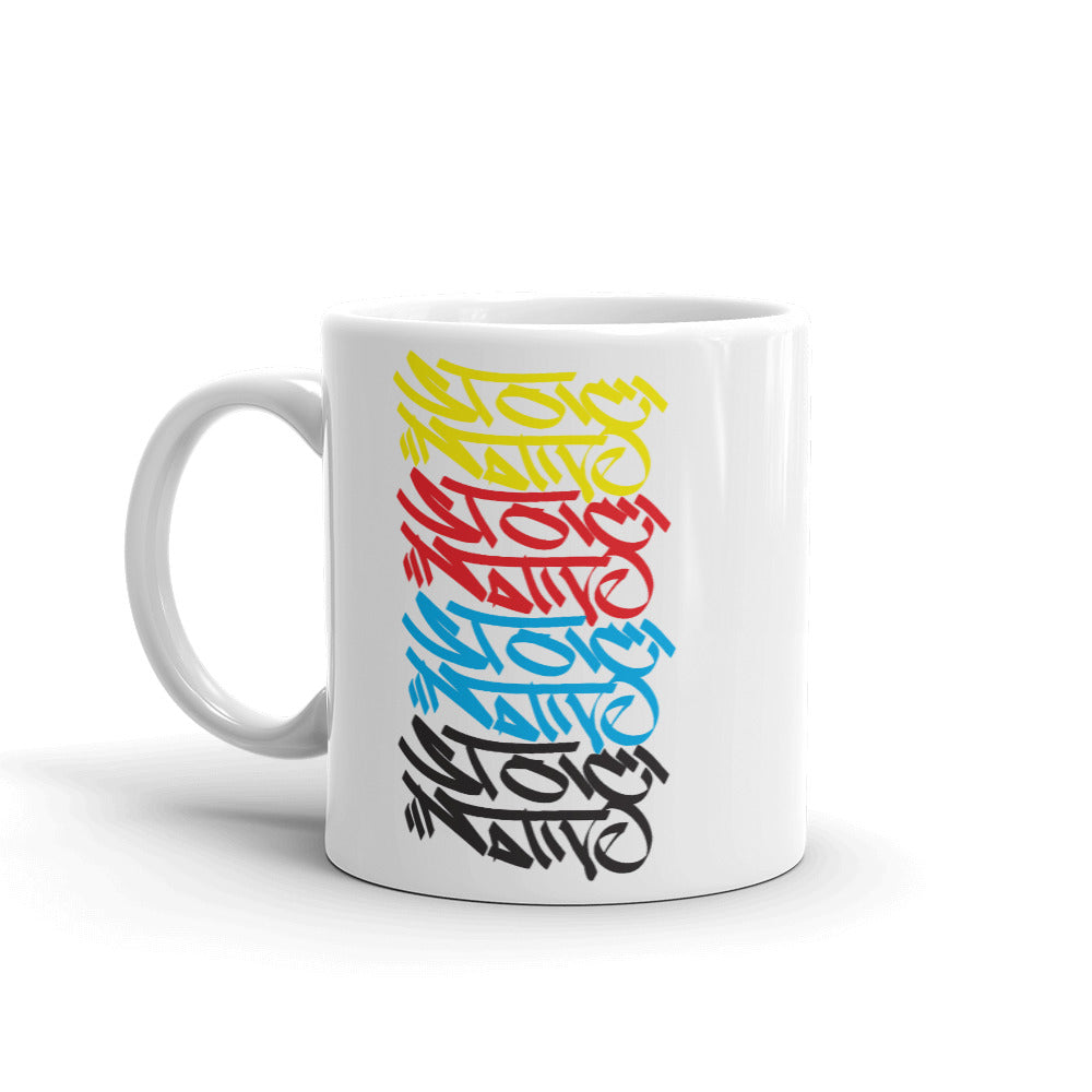 Stoic Native Graffiti Mug