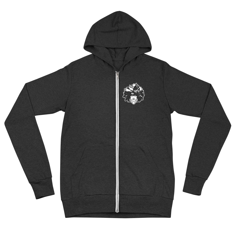 Unisex Men's Traditional zip hoodie
