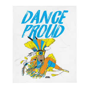Dance Proud Throw Blanket