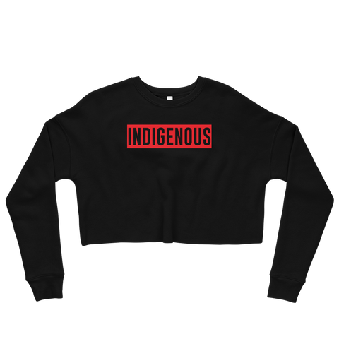Indigenous Crop Sweatshirt