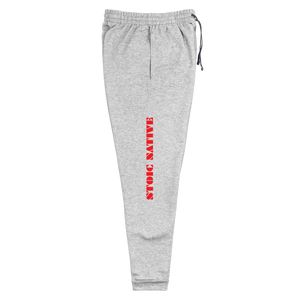 We are Descended from Warriors Unisex Joggers