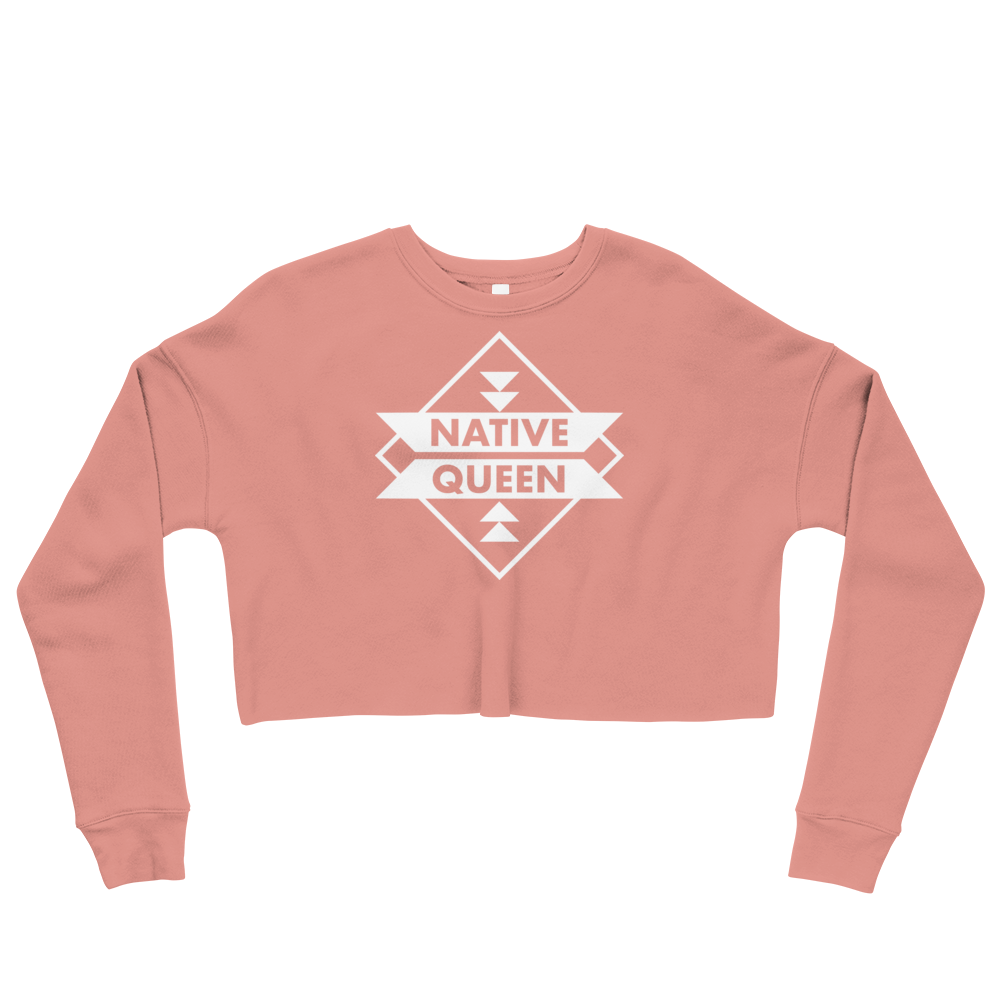 Native Queen Crop Sweatshirt