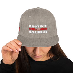 Protect the Sacred Snapback Hat