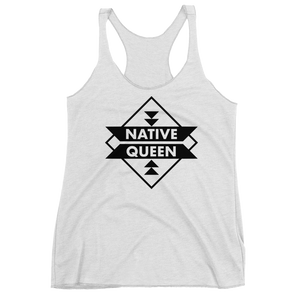 Native Queen Racerback Tank