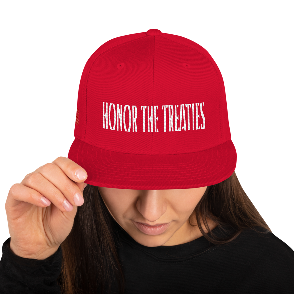 Honor the Treaties Snapback Hat