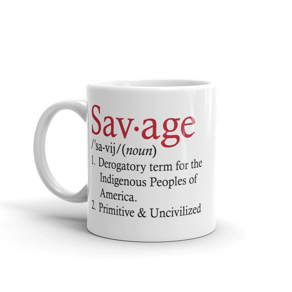 Savage Definition Mug