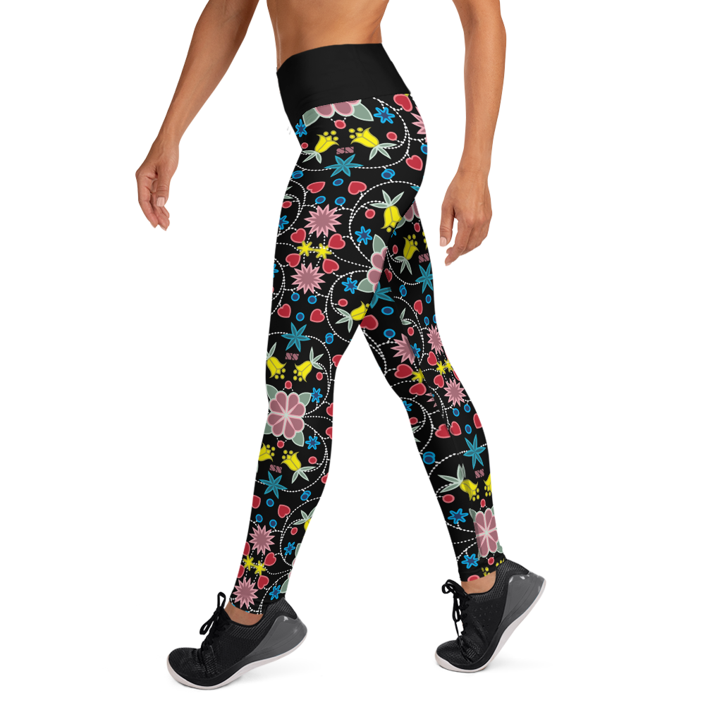 Native Floral Yoga Leggings
