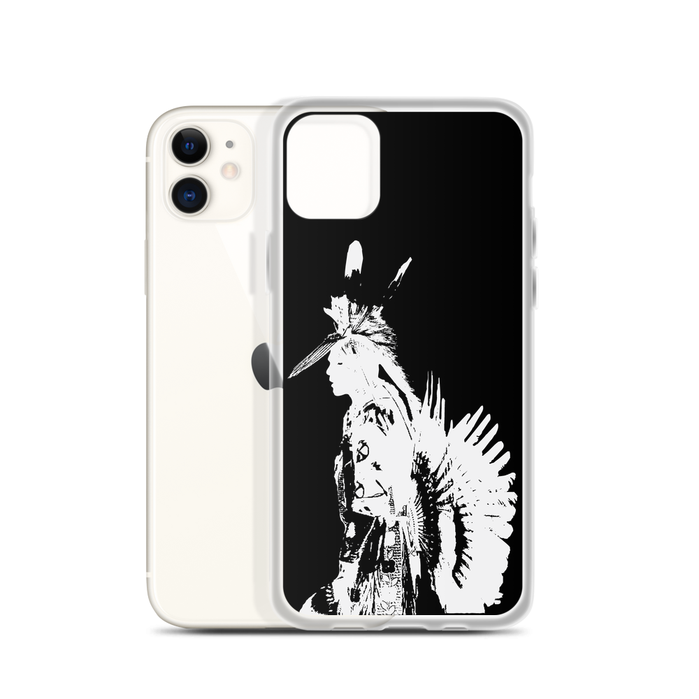 Men's Traditional Silhouette iPhone Case