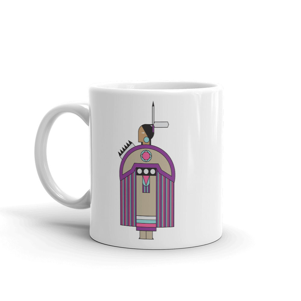 Traditional Dress Mug