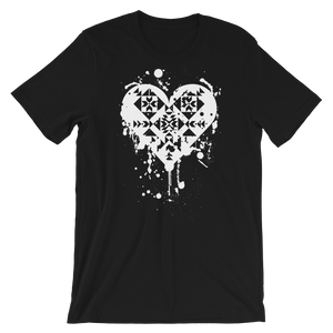 Splatter Heart Unisex T-Shirt