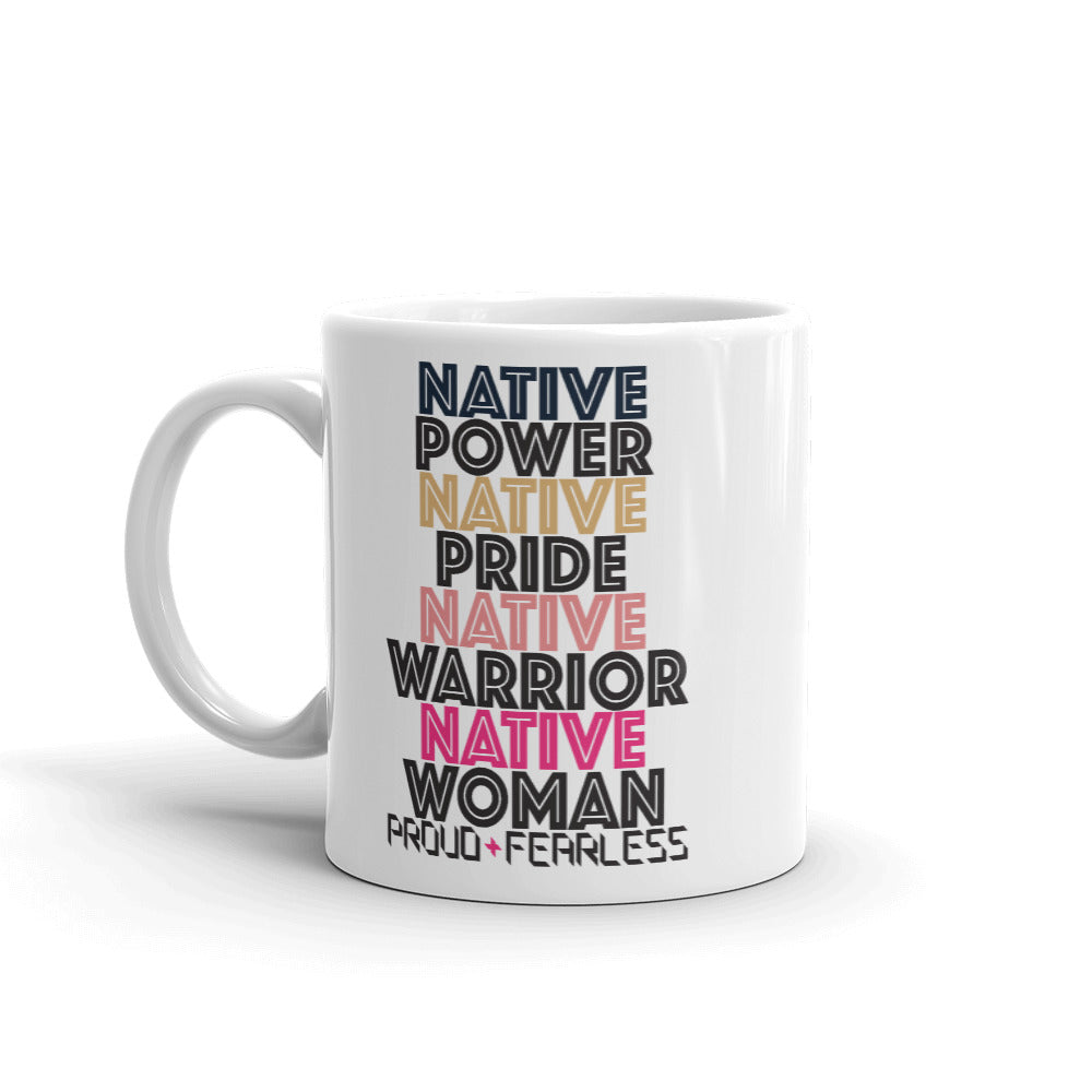 Native Women Mug