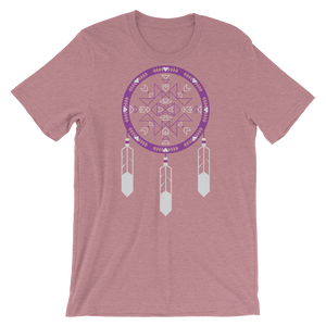 Purple Dreamcatcher Unisex T-Shirt
