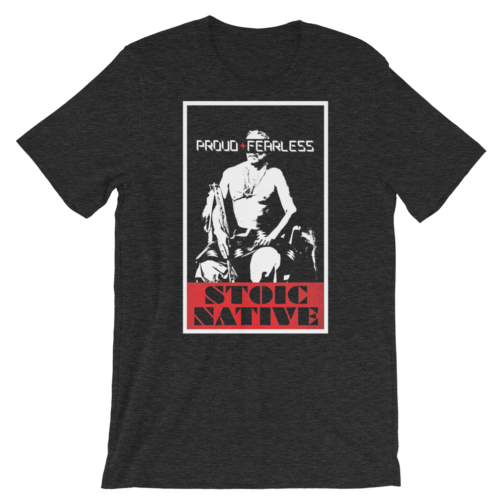 Stoic Chief Manuelito T-Shirt