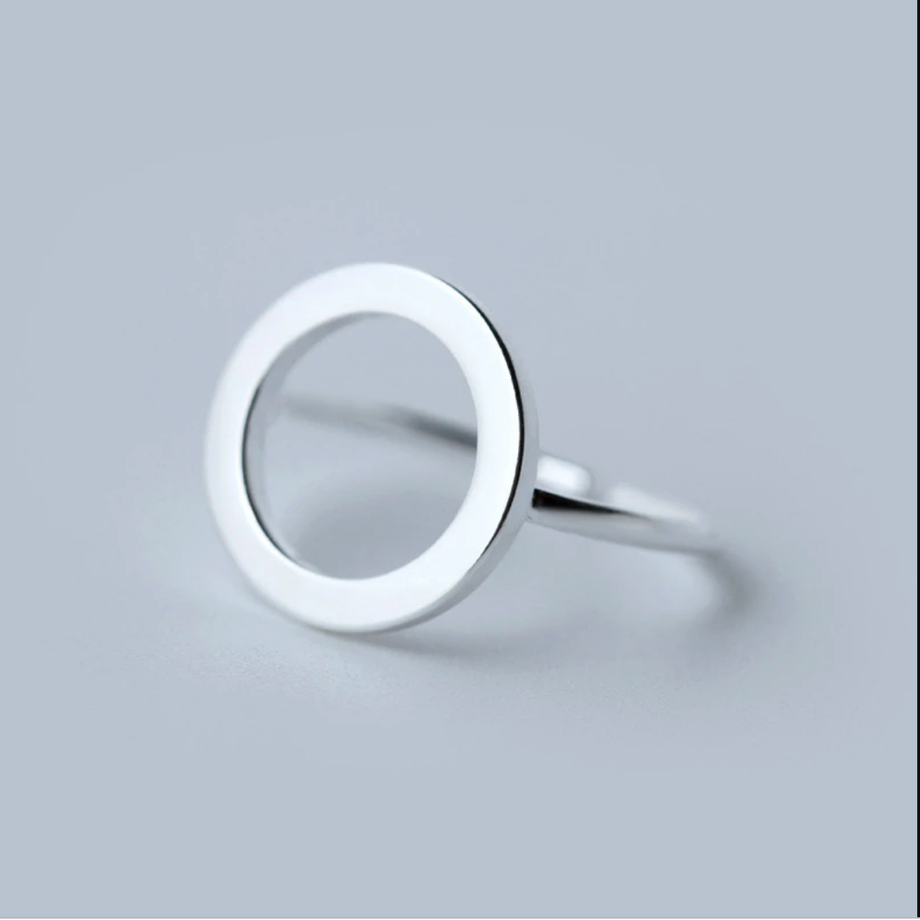 925 sterling silver karma circle ring | Kelabu Jewellery
