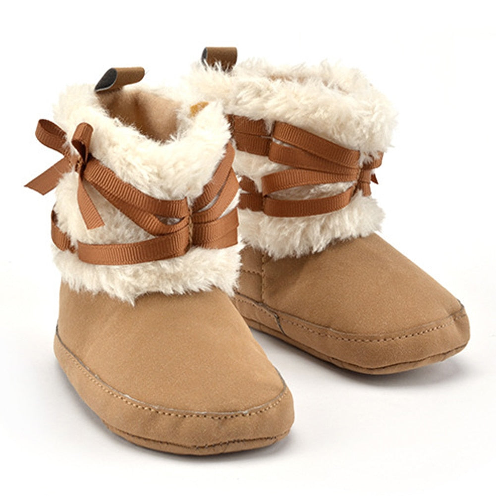 a64d31862d891 Kids Newborns Booties Winter Baby Shoes Boots For Girls Kids Warm Shoes  Boots Baby Boy Girls ...