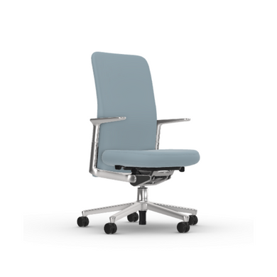 Pacific Chair - Light Grey/ Ice Blue - Vitra Malaysia