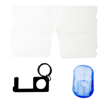 Load image into Gallery viewer, covid-19 safety kit-mask holder foldable-sheet soap-contactless key