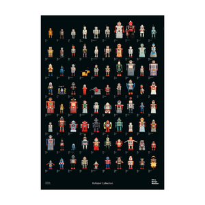 R.F. Robot Collection Poster
