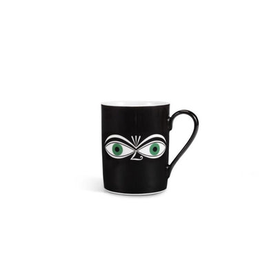Coffee Mugs Green Eyes by Alexander Girard,1971 - Porcelain Cup | Vitra