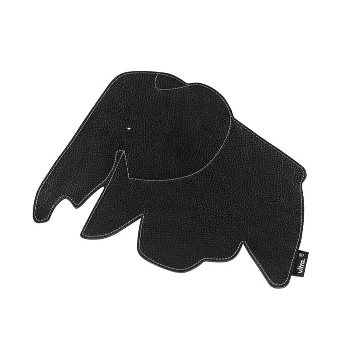 Mouse Pad Black by Hella Jongerius - Leather Decorative Item | Vitra