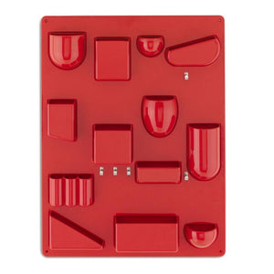 Uten.Silo II Red Small by Dorothee Becker,1969 - Wall Organizer | Vitra