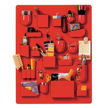 Load image into Gallery viewer, Uten.Silo I Red Large by Dorothee Becker,1969 - Wall Organizer | Vitra