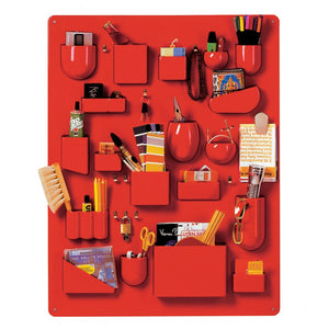Uten.Silo I Red Large by Dorothee Becker,1969 - Wall Organizer | Vitra