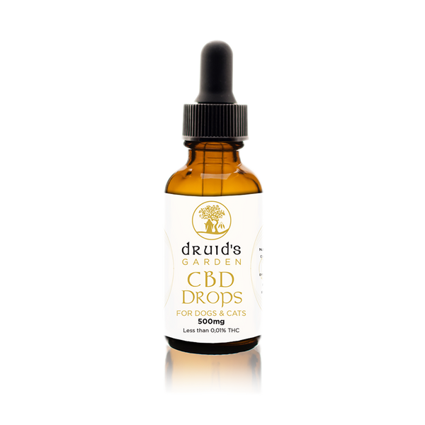 CBD Drops - Dogs & Cats 500mg