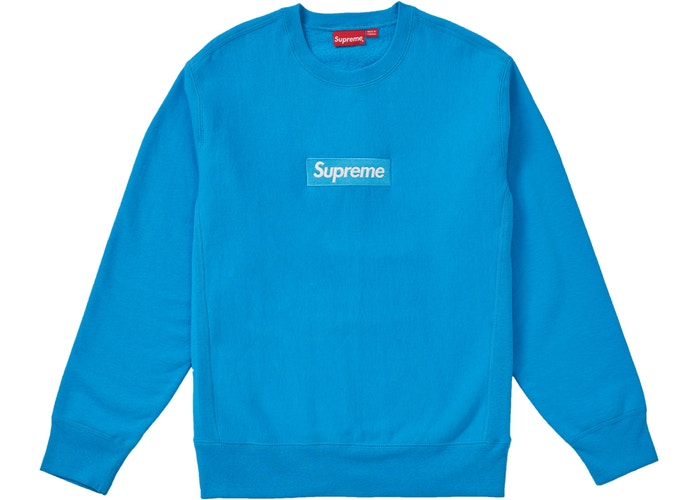 BOX LOGO CREWNECK