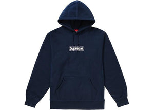 BANDANA BOX LOGO HOODED SWEATSHIRT