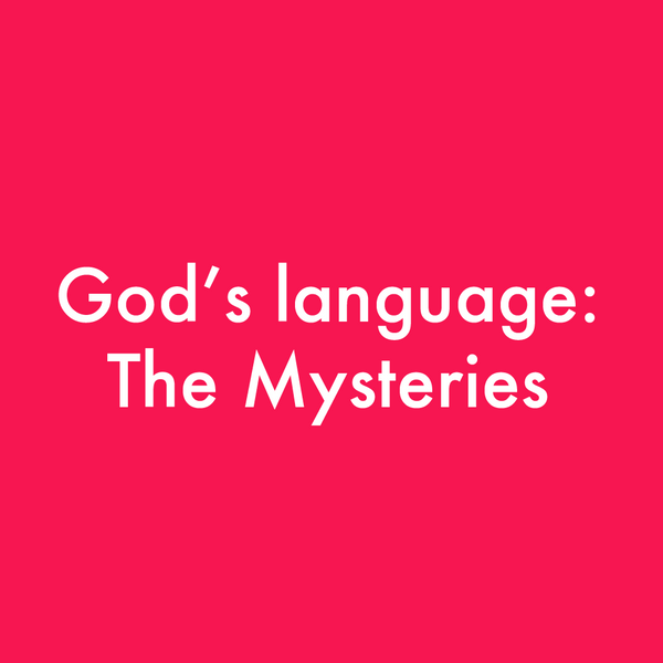 MP3 God's Language: The Mysteries