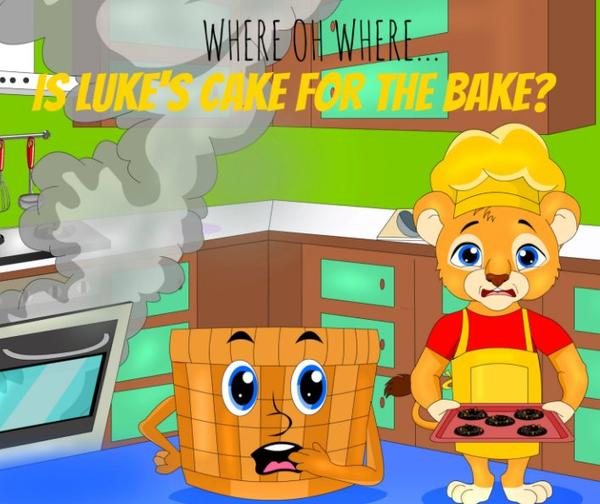 Audio e-Book for Apple - Where Oh Where Is Luke's Cake for the Bake?