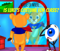Audio e-Book for Apple - Where Oh Where Is Luke's Costume for Class?