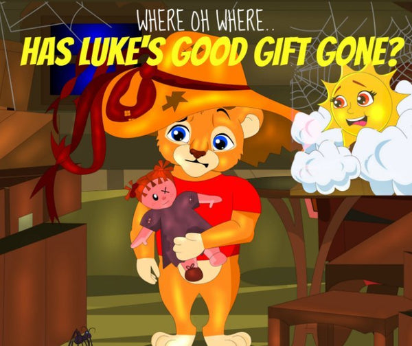 Audio e-Book for Apple - Where Oh Where Has Luke's Good Gift Gone?