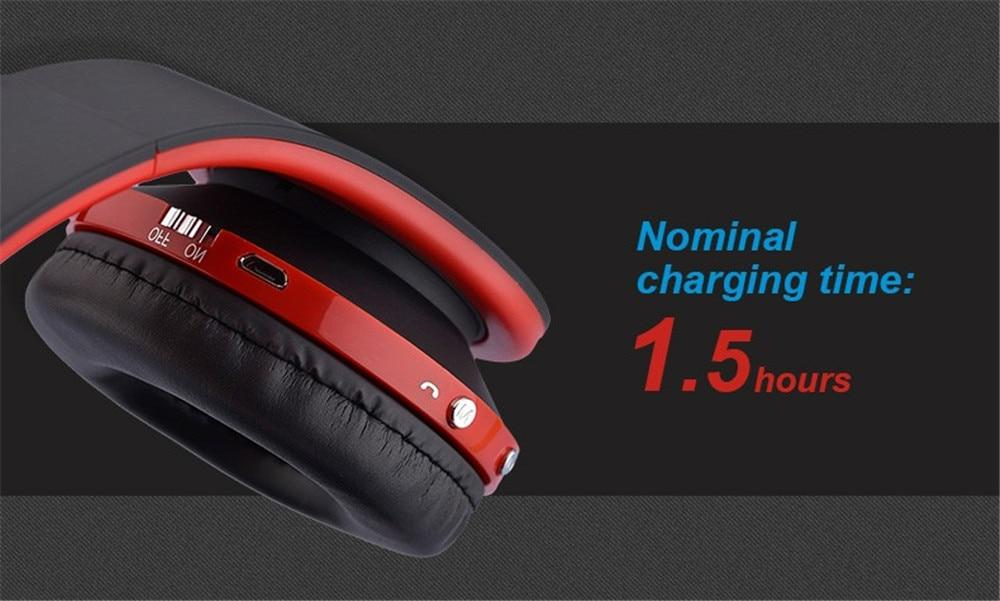 Folding wireless Bluetooth headset with microphone RH18
