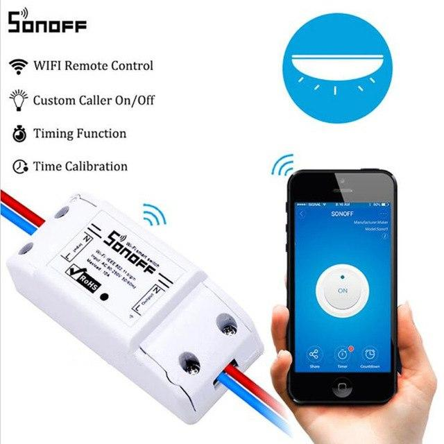 Smart key devices to a WiFi remote Sonoff 10A