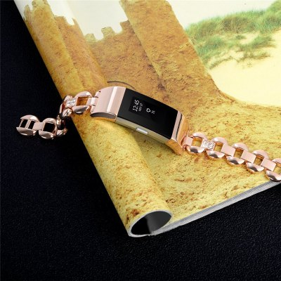 Stainless Steel Chain with Fitbit Charge 2 Adjustment Tool