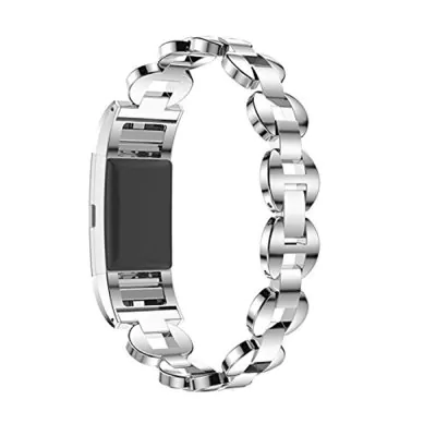 Stainless steel pebbles and magnetic clasp Fitbit / Fitbit Charge 2