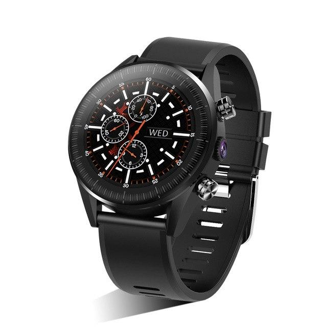Smartwatch Kingwear Vektros KC05, 4G, Android 7.1, Heart rate, 5MP Camera, 1GB RAM, 610mAh battery, IP67 Waterproof