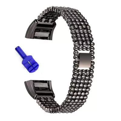 Chain of balls made of stainless steel for Fitbit / Fitbit Charge 2