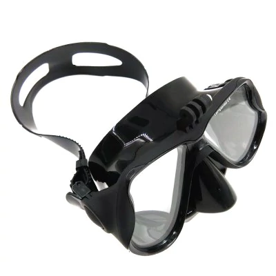 Professional swimming mask TELESIN to stand for action camera