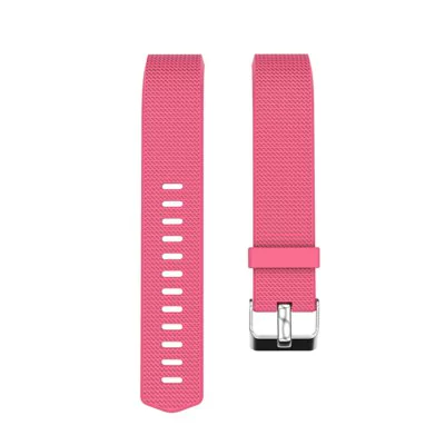 Pink silicone strap Fitbit / Fitbit Charge 2