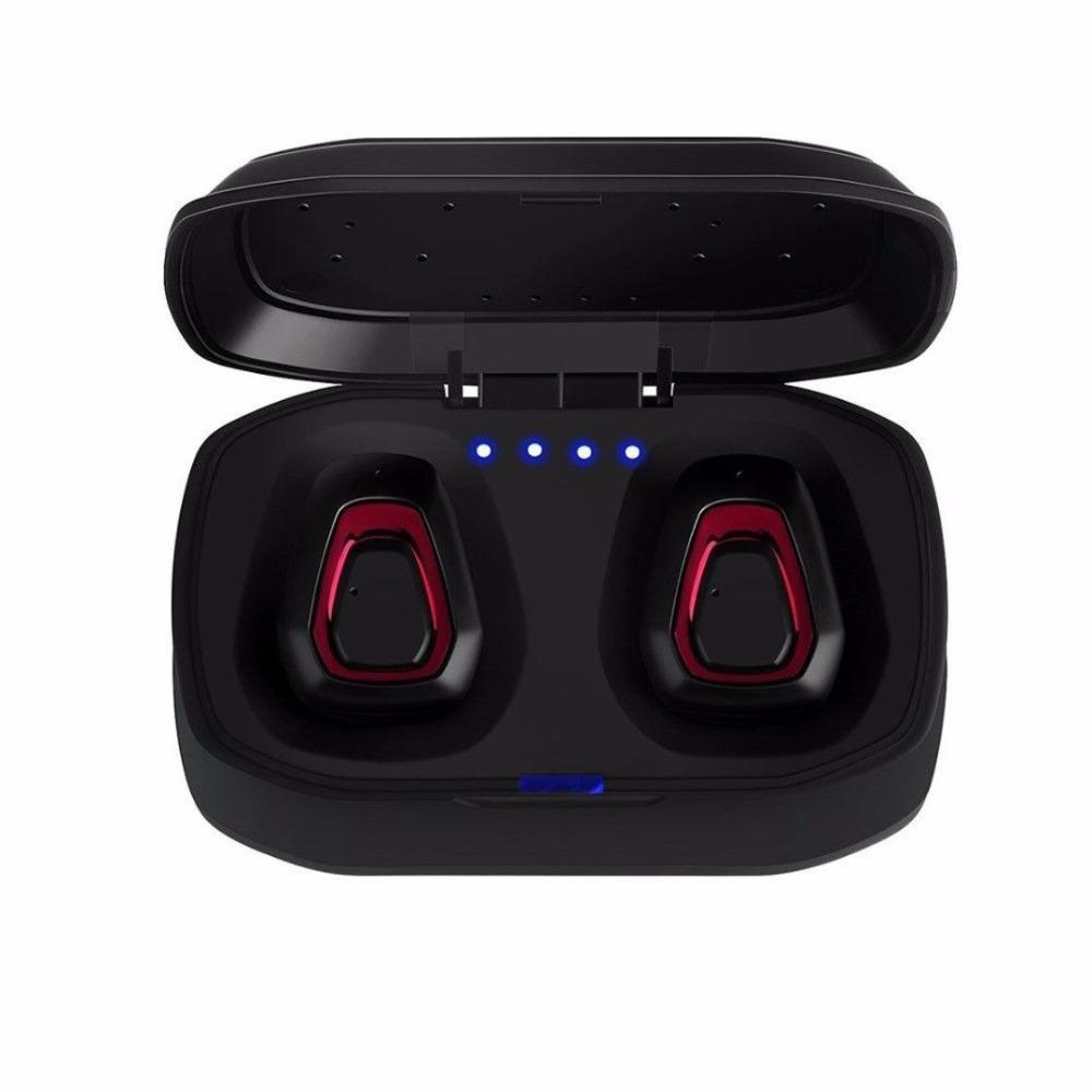 Wireless headphones A7 with Powerbank, Bluetooth 5.0, LED indicator