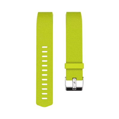 Yellow-green silicone strap Fitbit / Fitbit Charge 2