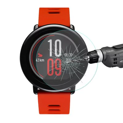 Hat-Prince Glass Screen Protector for Xiaomi Huami Amazfit Pace