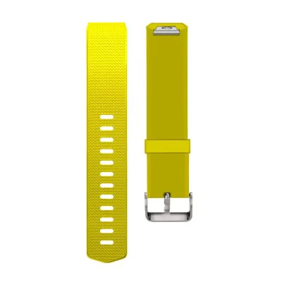 Yellow silicone strap Fitbit / Fitbit Charge 2