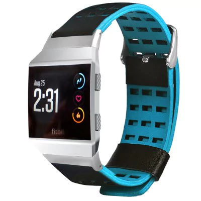 Breathable leather strap Fitbit / Fitbit Ionic